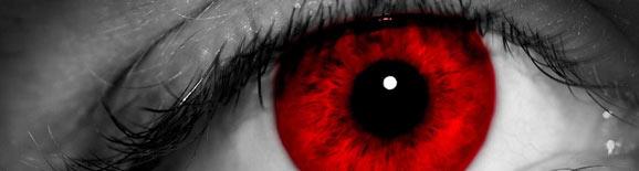 Imagen: Ojos rojos