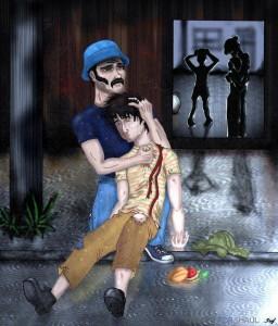 Crepypasta: El barríl funebre y el Chapulín oscuro